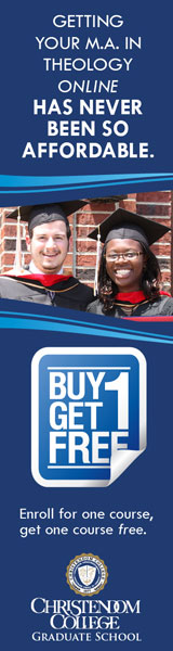 Christendom College - Buy 1 Get 1 Free
