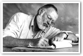the early inclination of ernest hemingway towards literature Five fascinating facts about ernest hemingway  the nobel prize for literature hemingway also survived a string of illnesses and other threats to his general .