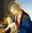La belleza de una madre en la misa